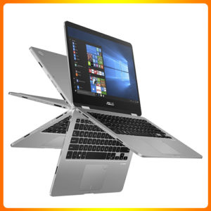 """ASUS Vivo book Flip 14 Thin and Light 2-in-1 Laptop, 14"""" HD Touchscreen"""