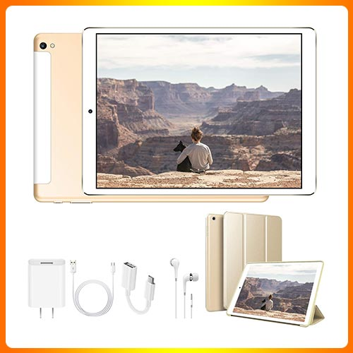 DOUDOUGO 2 in 1 10 Inch Android Tablet