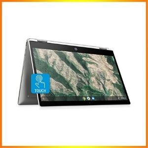 HP Chromebook x360 14-inch HD Touch screen Laptop<br />