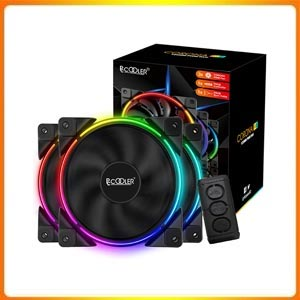 Pccooler 120mm Fan Moonlight Series for PC Cases