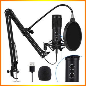 Bonke Upgraded USB Condenser Microphone