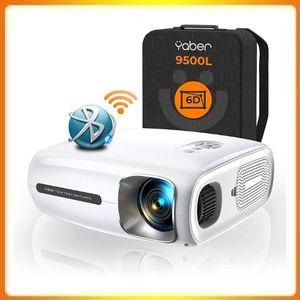 YABER Pro V7 9500L 5G Wi-Fi Bluetooth Projector